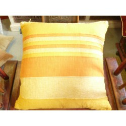 Cushion cover 40x40 cm 2 yellows and orange