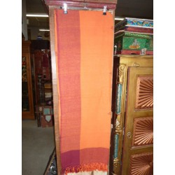 small kerala bordeaux orange - couture 150x220 cm