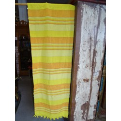 Bedspread kerala pastel yellow and orange
