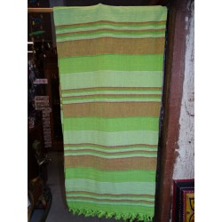 Bedspread kerala green apple and caramel