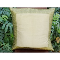 cushion cover 60x60 Golden border brocade