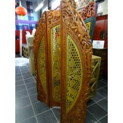 Brocade Tischdecken schiere 110x110 cm weiß