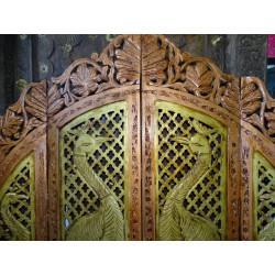 Tafetán manteles de brocado 150x225 cm de color verde claro