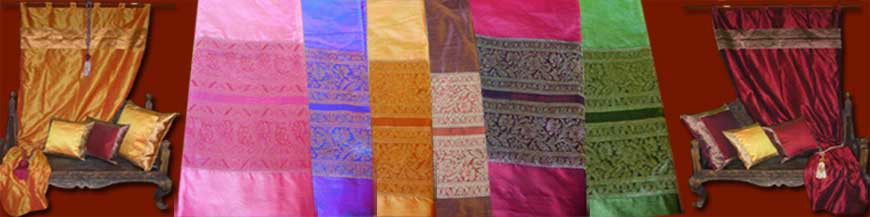 Madras curtains