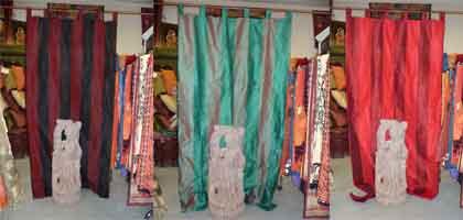 Madras curtains