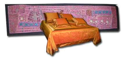 Jefe de cama textil