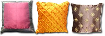 Covers cushions and pillows